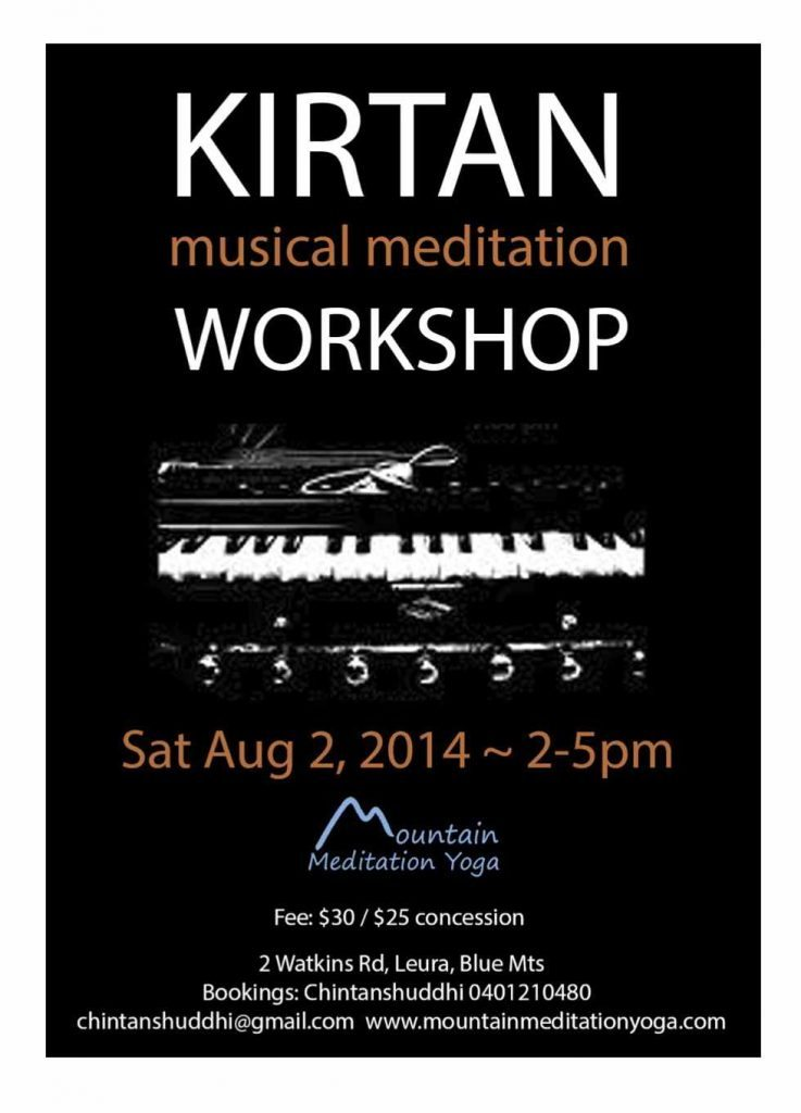 Kirtan Workshop 2-8-14