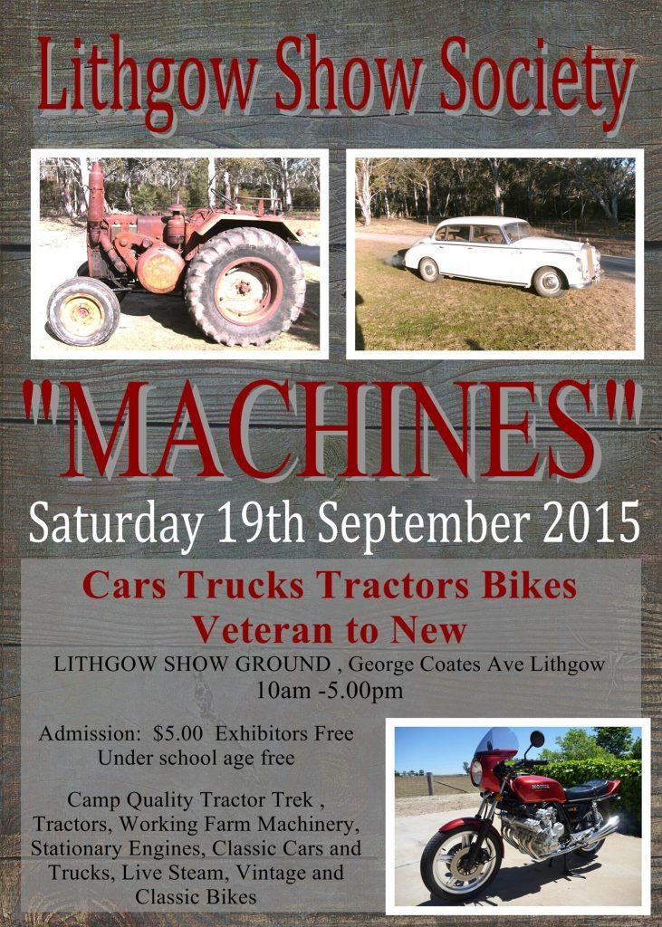 Lithgow Show Machines