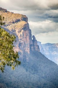 Grose Valley cliffs from Asgard Mine